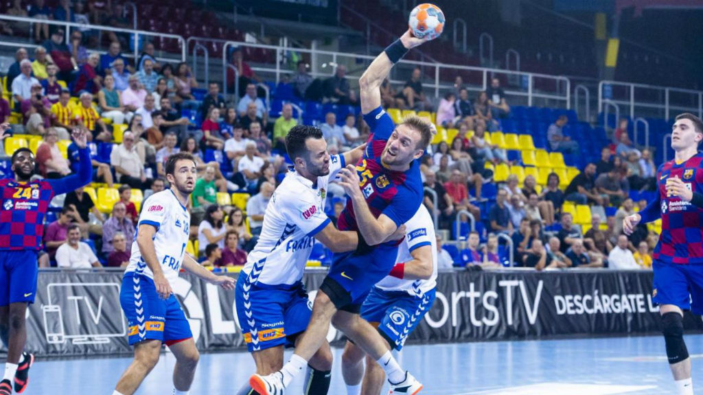 Barça granollers handbol