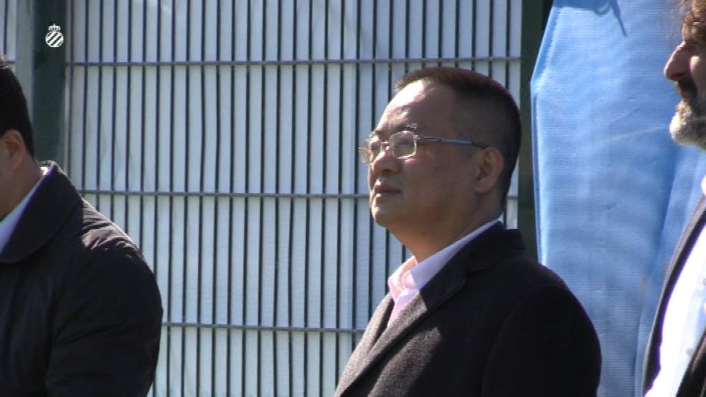 Chen Yansheng a l'entrenament