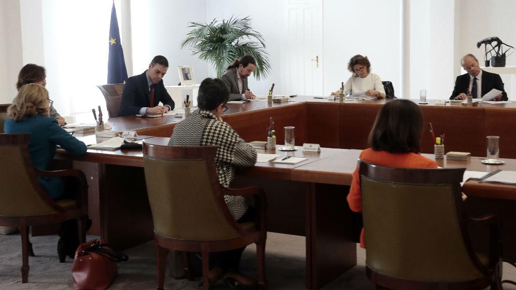 Consell de ministres per estat d'alarma per coronavirus