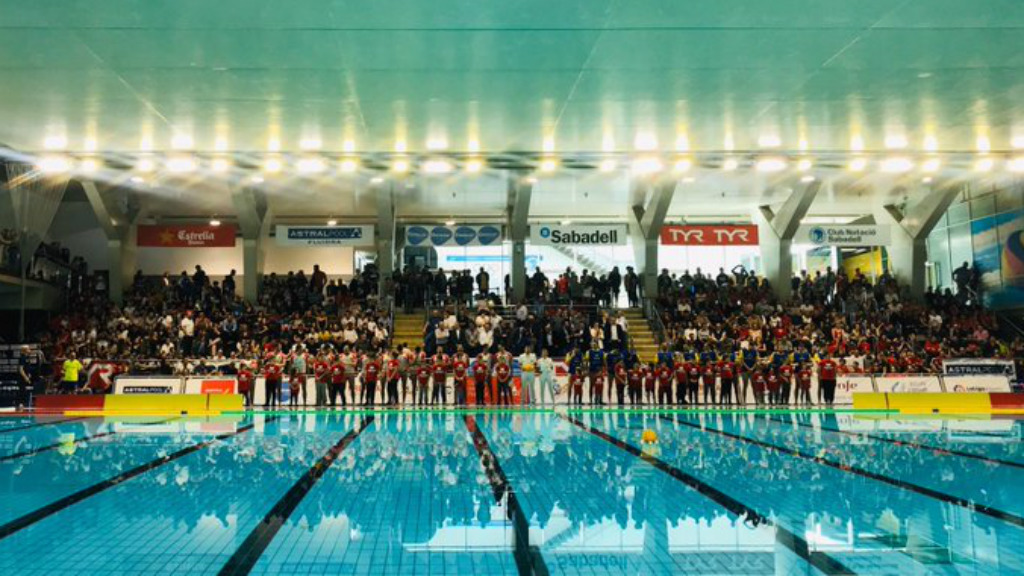 Atlètic-Barceloneta Copa Rei waterpolo 2020