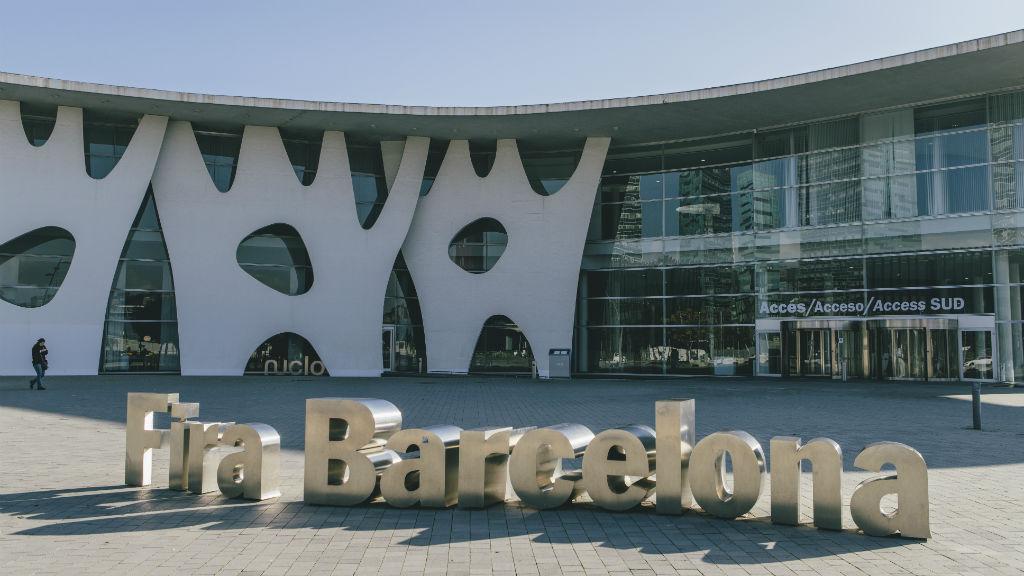 Entrada de la Fira de Barcelona