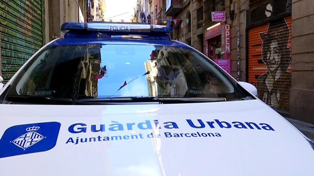 urbana patrullant
