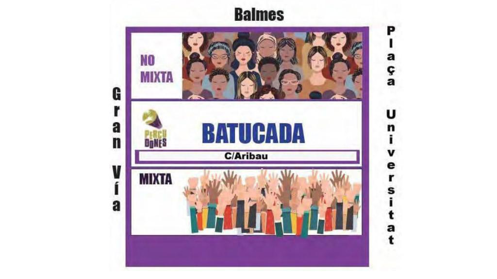 manifestació 8 març 2020 barcelona