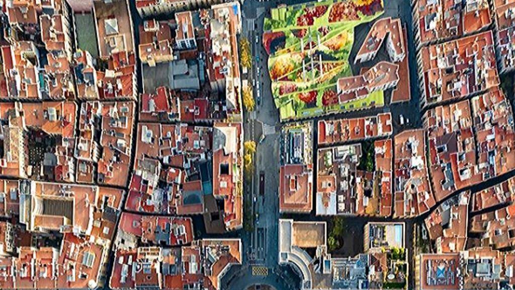 Barcelona Dron