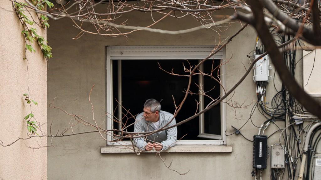 Confinament veins finestra
