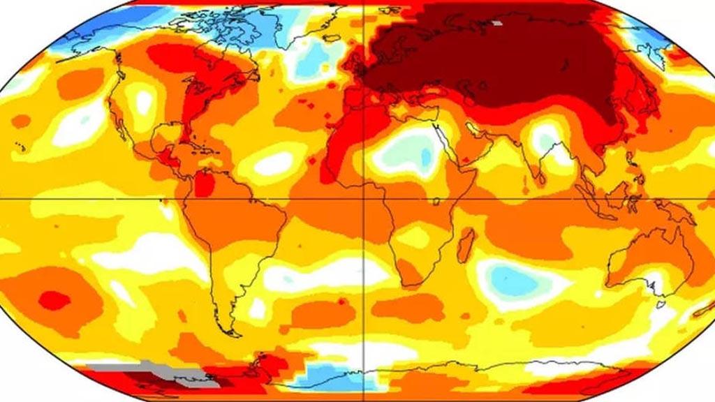 Imatge del forat de la capa d'ozó. Font: Eumetsat