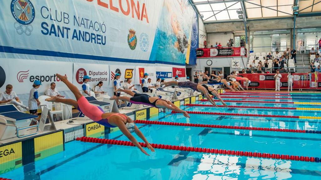 CN Sant Andreu suspen Ciutat Barcelona de Natació