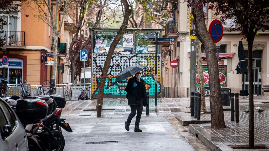pluja coronavirus Barcelona