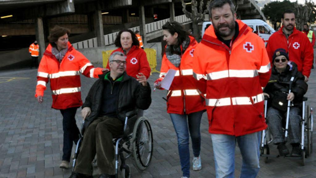 Creu Roja al Camp Nou