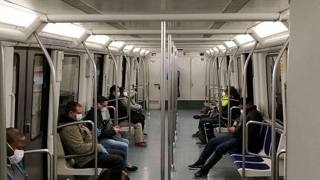 metro Barcelona coronavirus