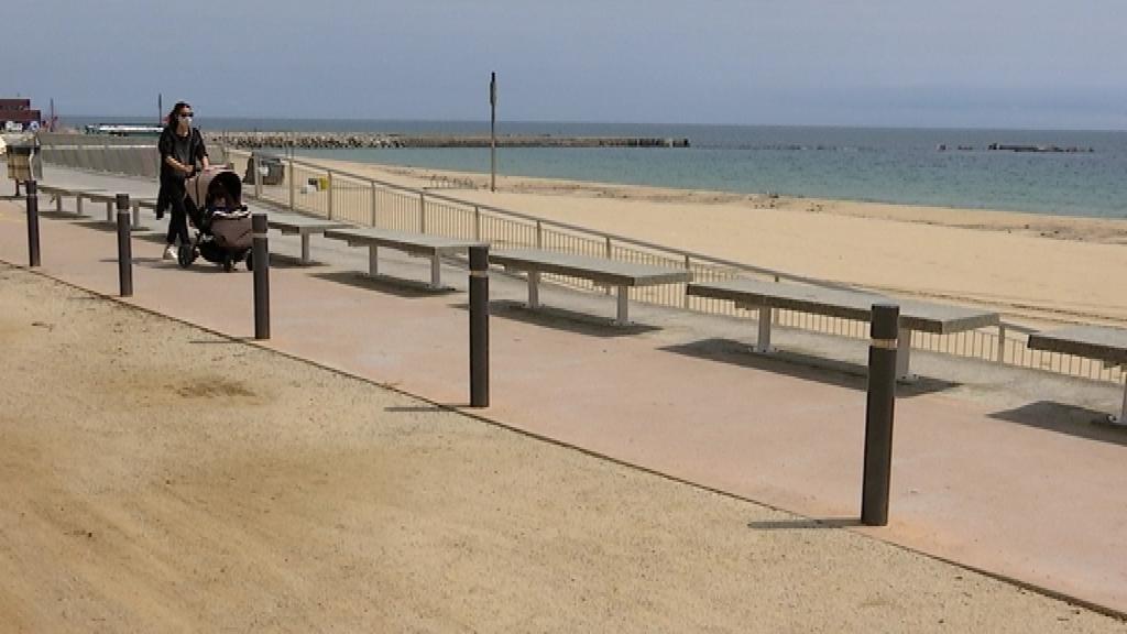 segon-dia-desconfinament-nens-platja