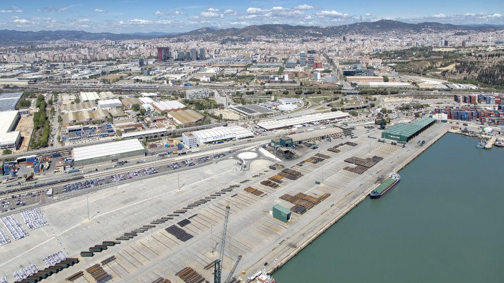 Imatge del Moll Príncep d'Espanya del Port de Barcelona