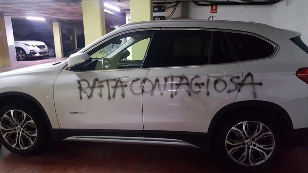 Pintada vandàlica ginecòloga