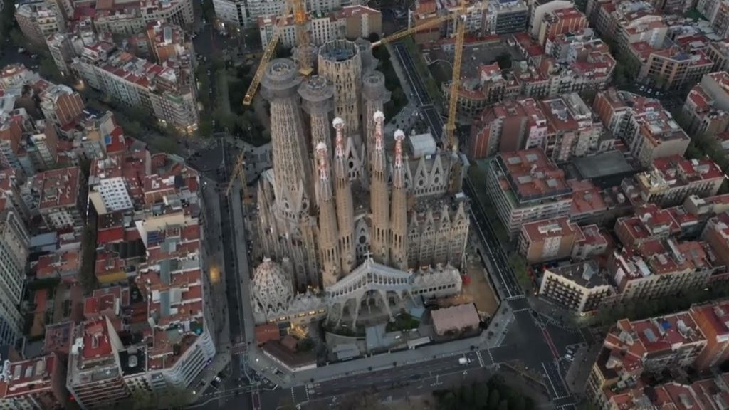 dron Barcelona