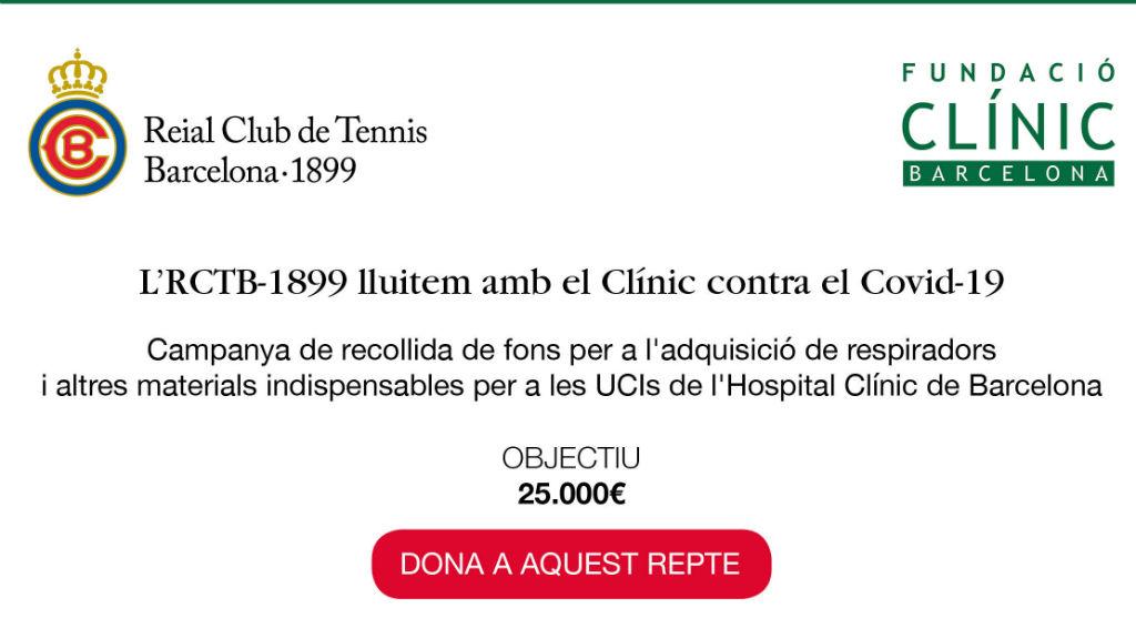RC Tennis Barcelona i Hospital Clínic diners