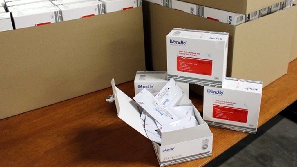 arriben mes unitats test rapid coronavirus