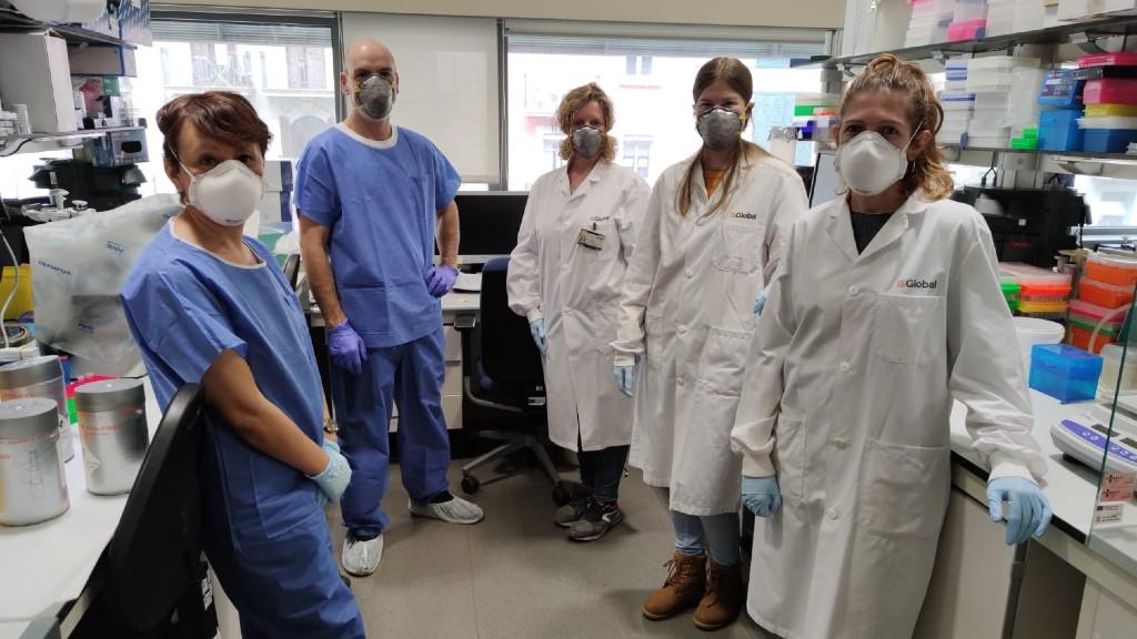 Personal sanitari de l'Hospital Clínic