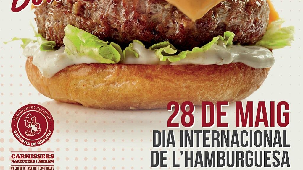 cartell campanya gremi carnissers dia hamburguesa