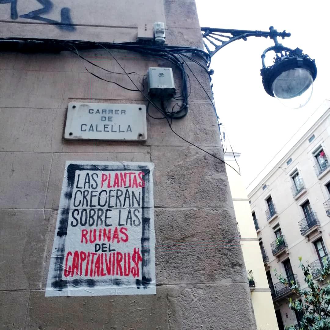 art urbà covid coronavirus El Rughi Tropelia capitalvirus