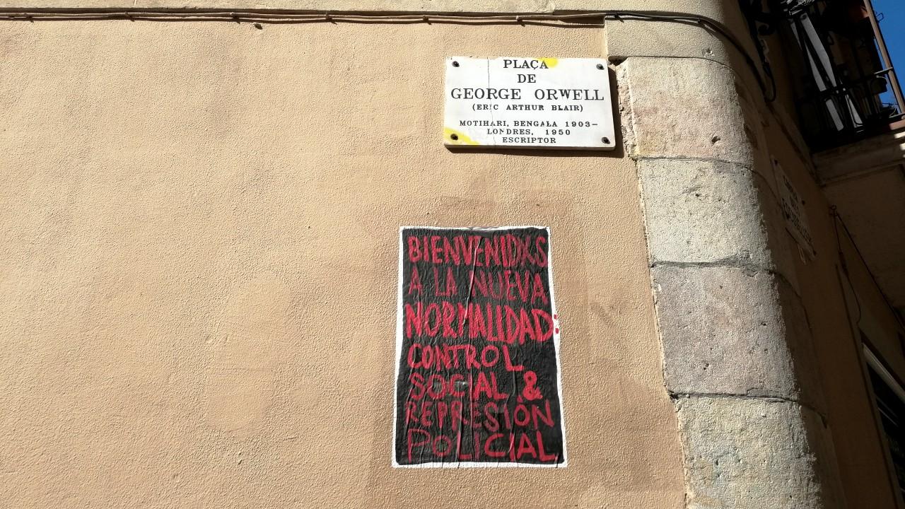 art urbà covid coronavirus El Rughi Tropelia control social