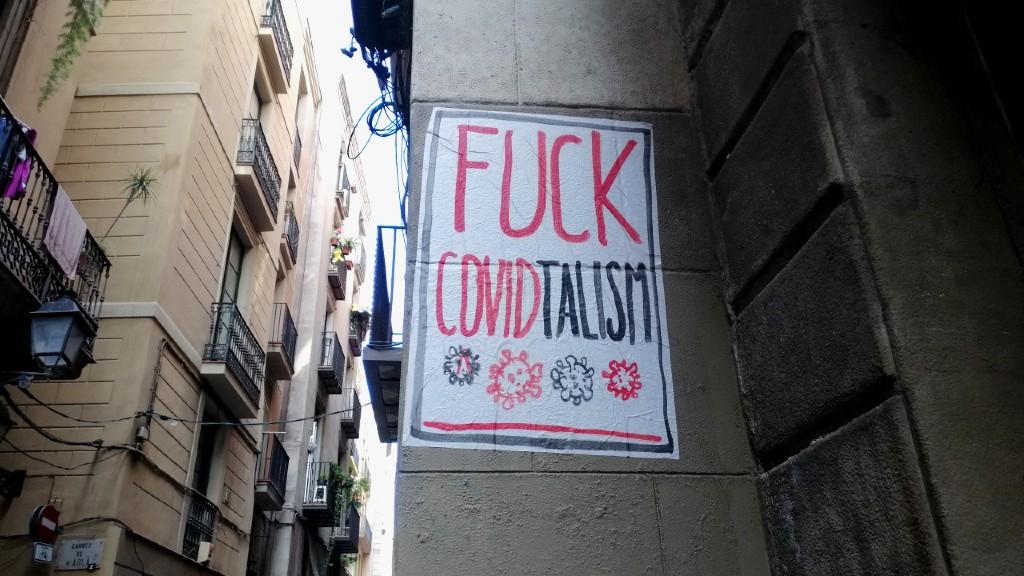 rt urbà covid coronavirus El Rughi Tropelia 190520 fuck covidtalism