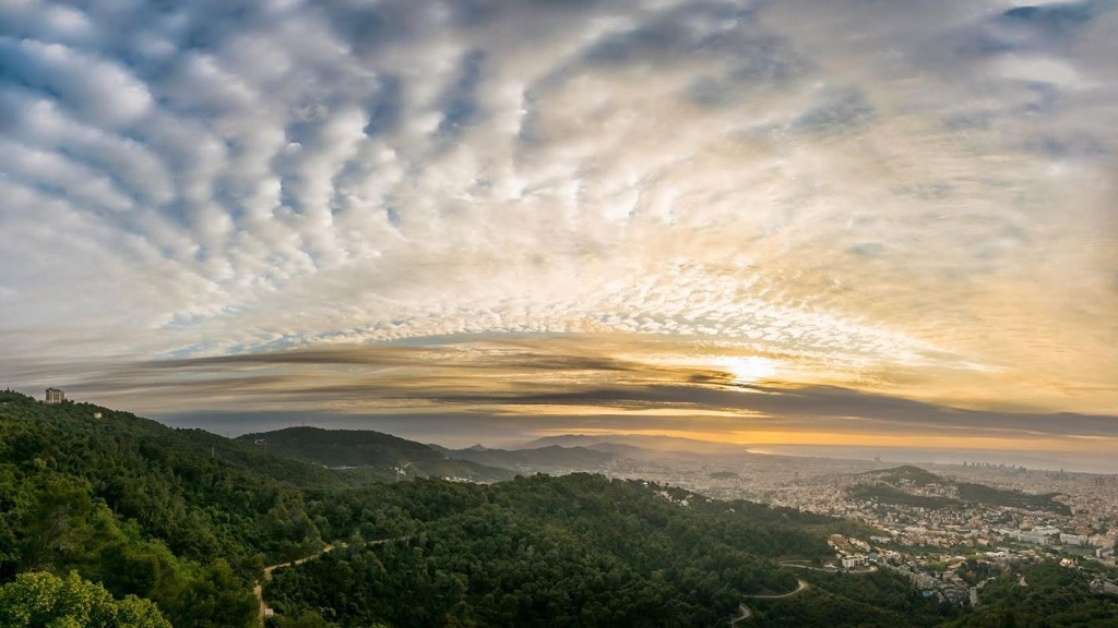 sortida de sol Observatori Fabra