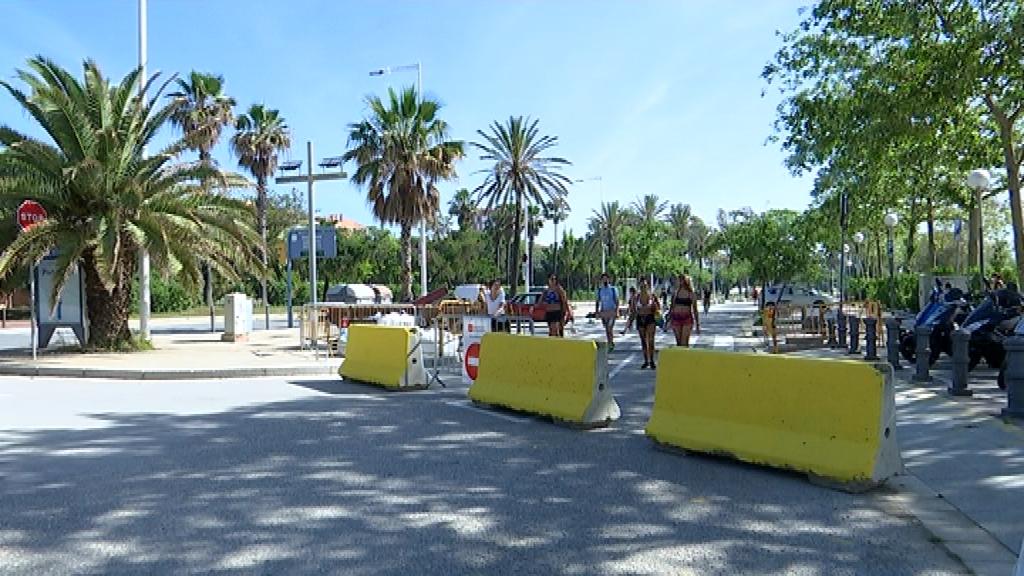 aparcament platja barcelona