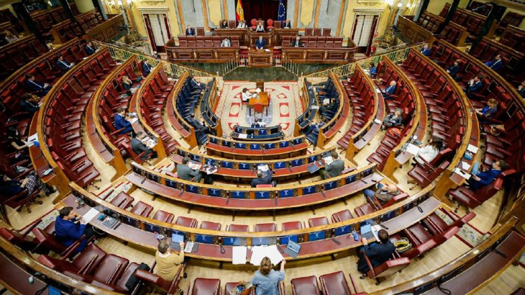 Pla general del Congrés dels Diputats aquest 6 de maig