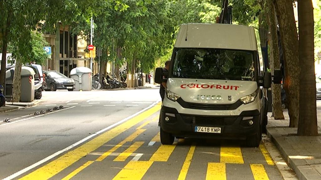 furgoneta Consell de Cent