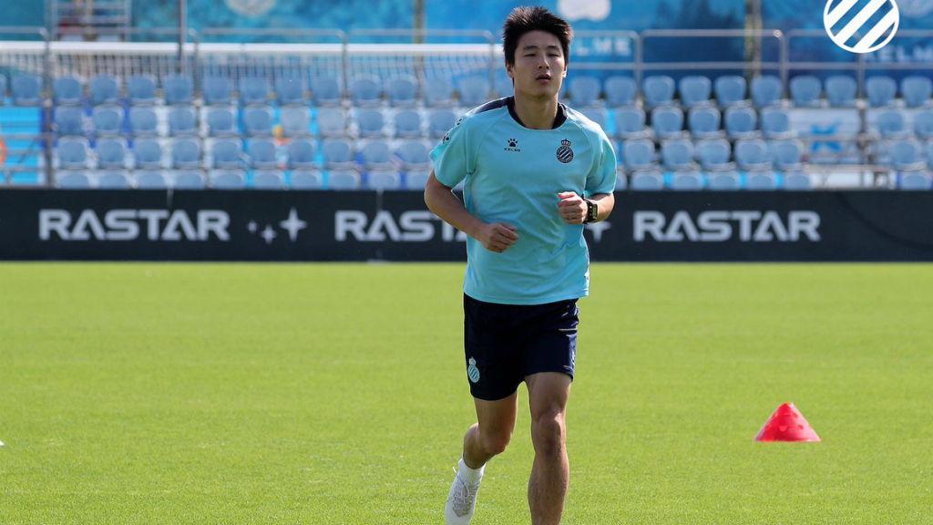 Entrenaments jugadors RCD Espanyol