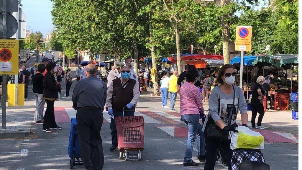 Mataró desescalada mercat