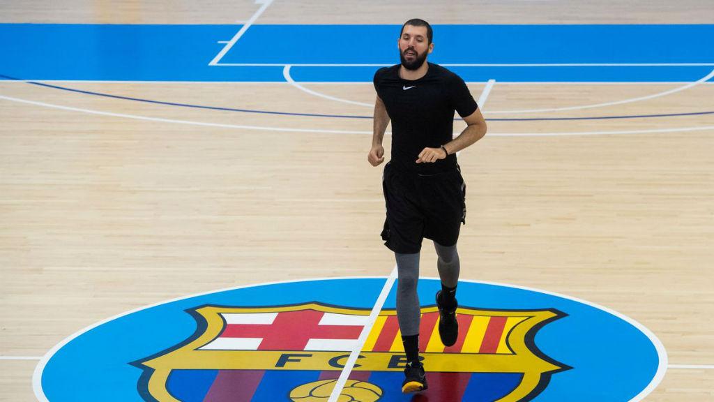 Mirotic, entrenaments FC Barcelona Bàsquet
