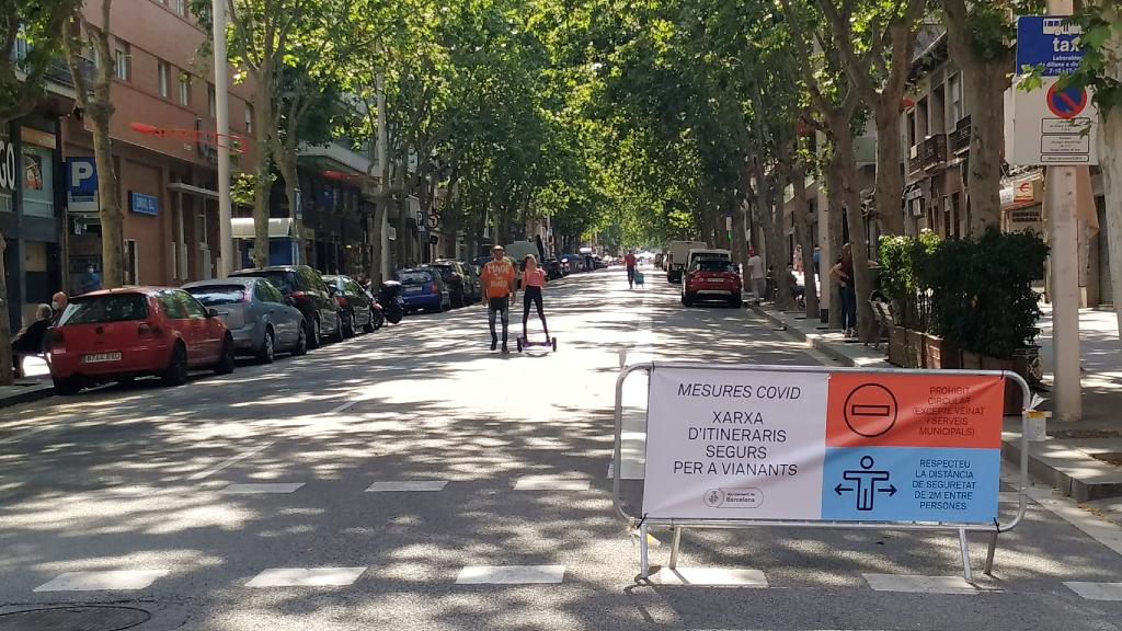 carrers tallats transit desconfinament coronavirus