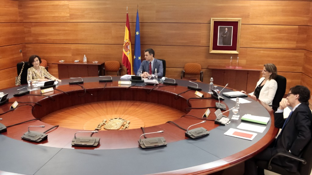 Pedro Sánchez Consell Ministres