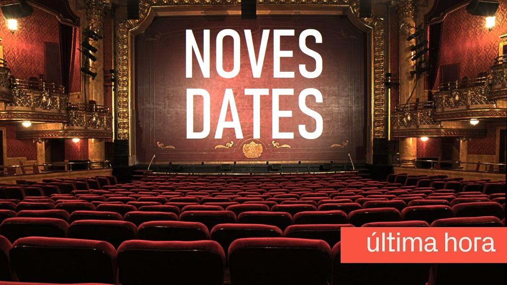 cancelacions concerts festivals Barcelona i teatre