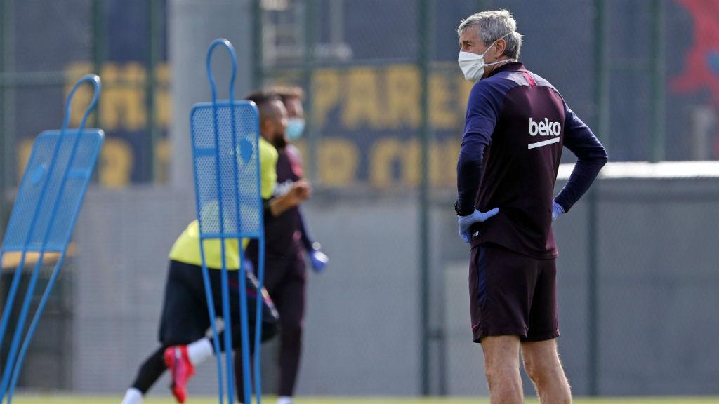 FCB torna als entrenaments