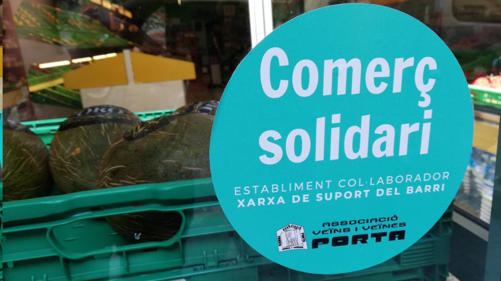 Comerç solidari xarxa de suport Porta