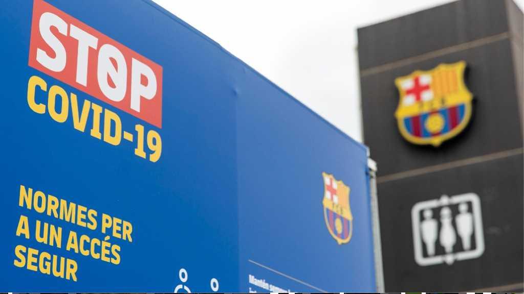 Mesures coronavirus Camp Nou esplanada