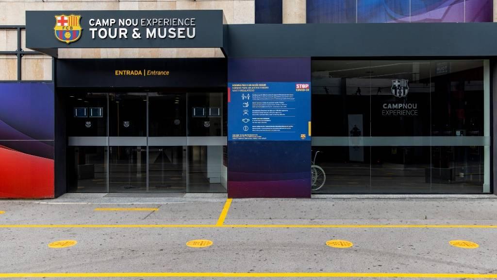 mesures coronavirus museu botiga Barça
