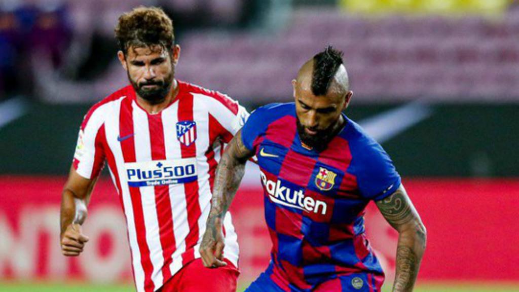 Barça Atlètic de Madrid Primera Divisió 2019 2020 Vidal