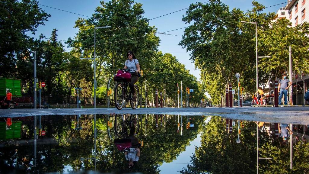 bicicleta carrer desescalada