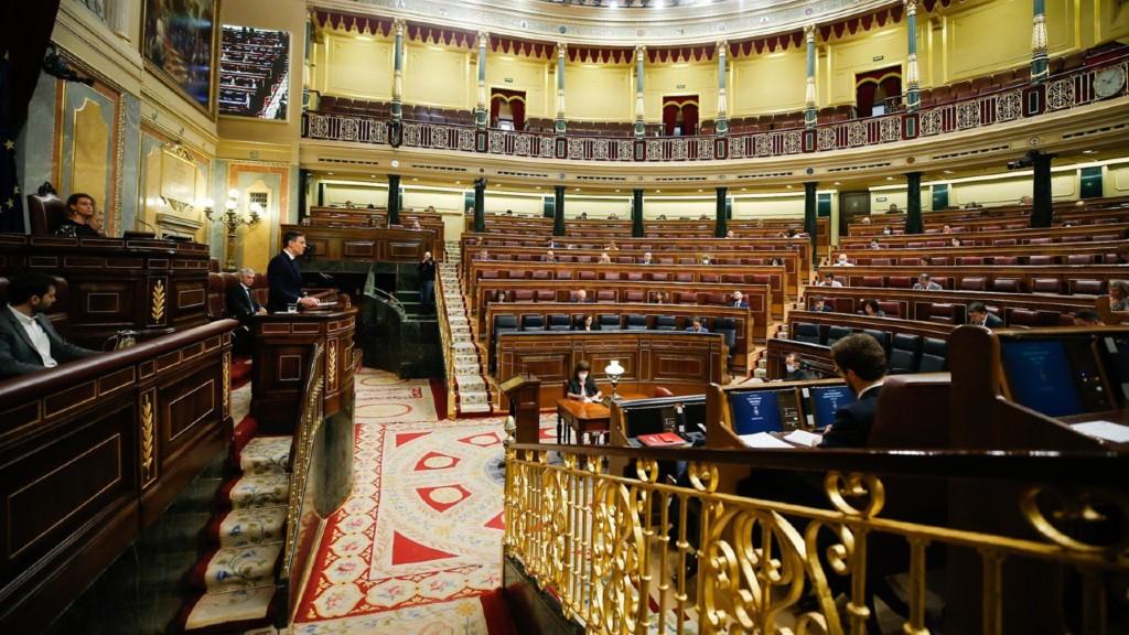 Congrés dels Diputats el 3 de juny de 2020
