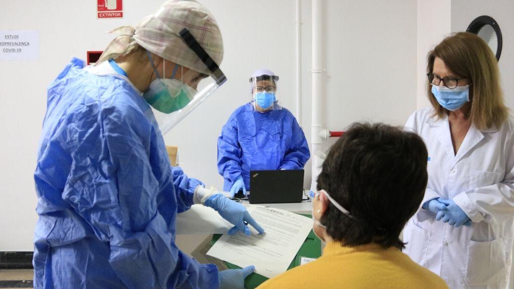 coronavirus test hospitals