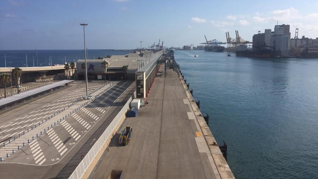 Creuers al Port de Barcelona