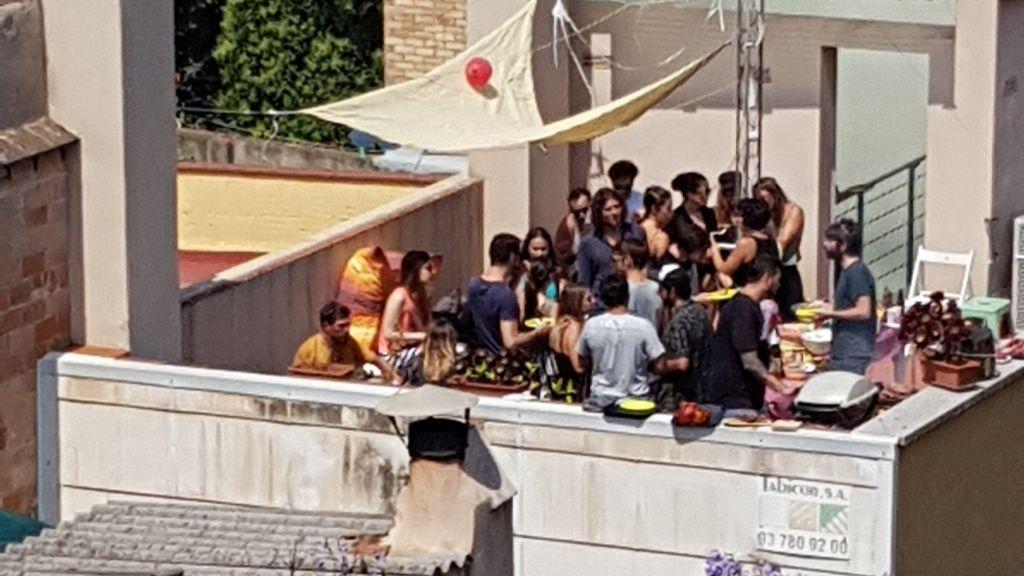 Festa terrassa Gràcia