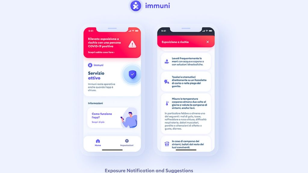 Immuni app Itàlia