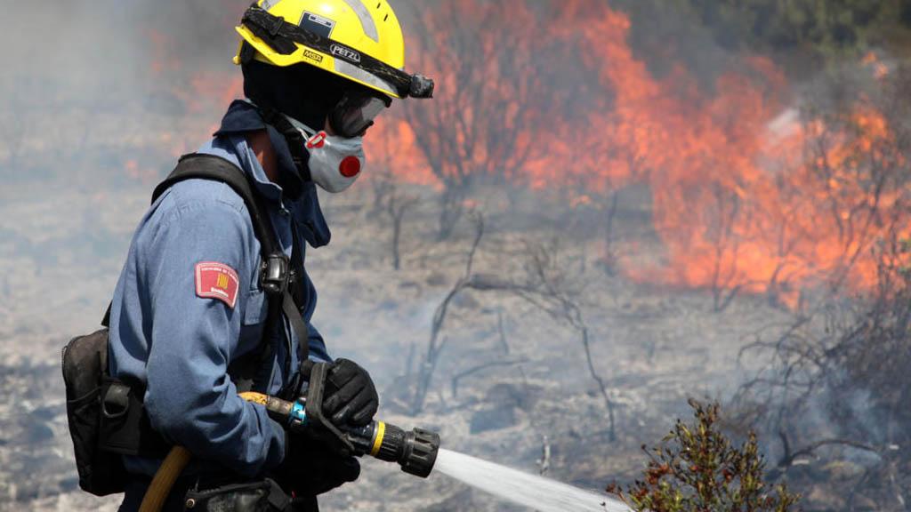 risc elevat d'incendis forestals