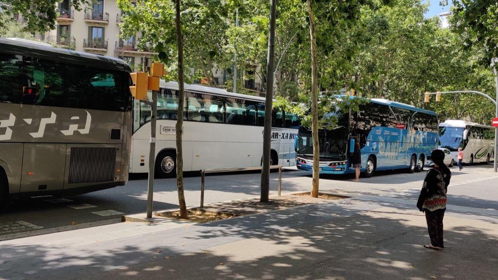 marxa lenta autocars Barcelona