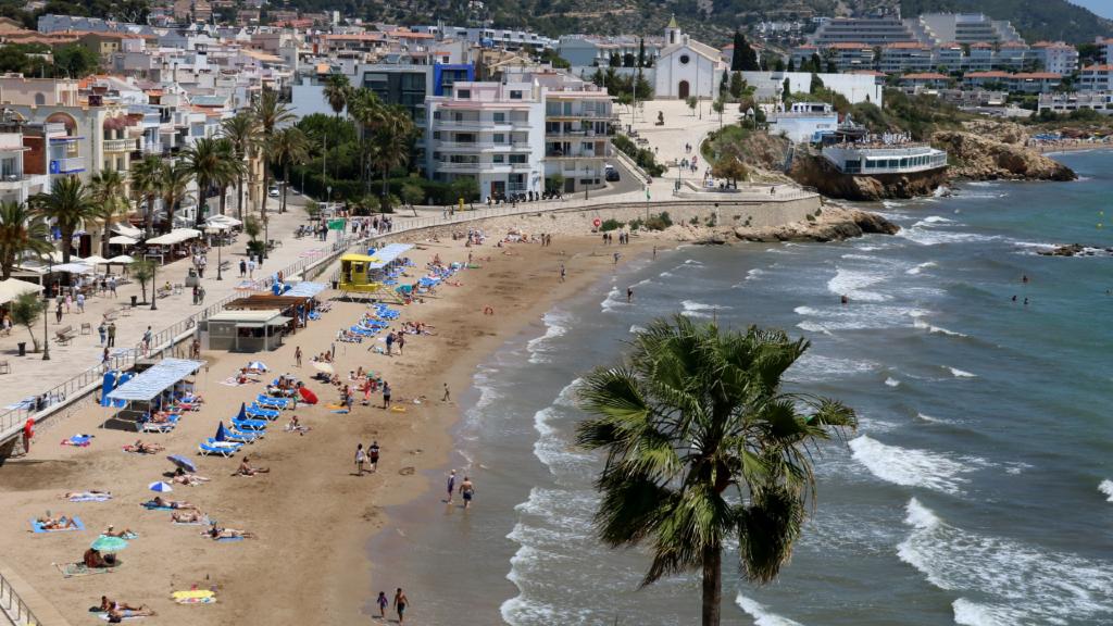 Platja de Sant Sebastià de Sitges