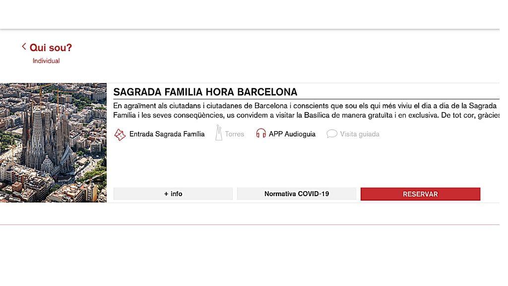 Entrades Sagrada Família